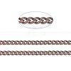 Brass Twisted ChainsCHC010Y-R-1