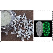 Nail Art Luminous Sequins Powder MRMJ-E006-06C
