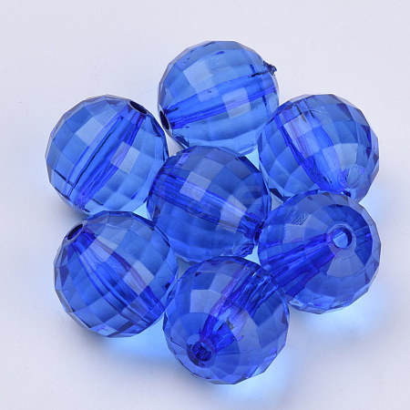 Transparent Acrylic BeadsTACR-Q254-22mm-V44-1
