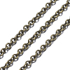 Brass Cable ChainsCHC-034Y-AB-NF-2