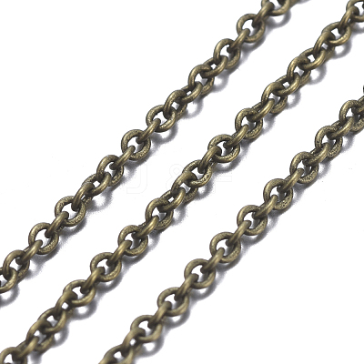 Brass Cable ChainsCHC-034Y-AB-NF-1