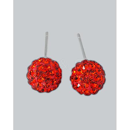 Ball Stud EarringsX-EJEW-Q442-20-1