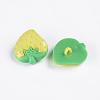 Acrylic Strawberry Shank ButtonsX-BUTT-E021-B-10-2