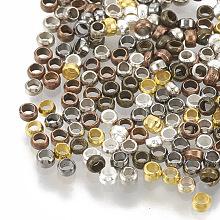 Brass Crimp Beads KK-Q754-01