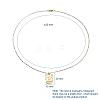 Brass Pendant Necklaces SetsNJEW-JN02679-3