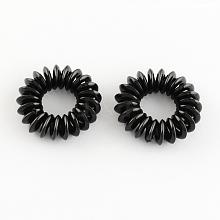 Telephone Cord Elastic Hair Ties OHAR-R116-08
