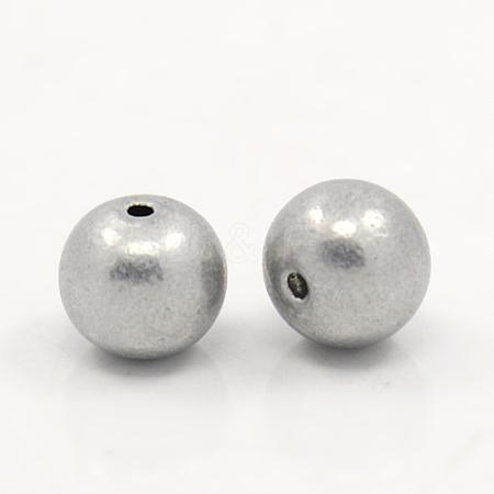 Aluminum BeadsALUM-A001-8mm-1