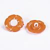 1-Hole Acrylic Shank ButtonsX-BUTT-E069-B-08-3