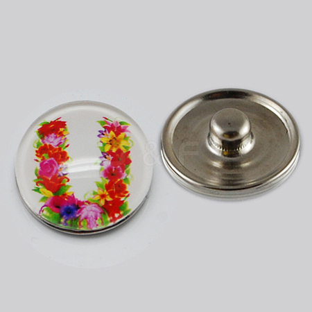Holiday Buttons X-GLAA-R031-K186B-1