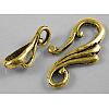Tibetan Style Hook and Eye ClaspsGLF1157Y-NF-1