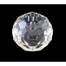 Handmade Glass Beads GR8X12MMY-1L