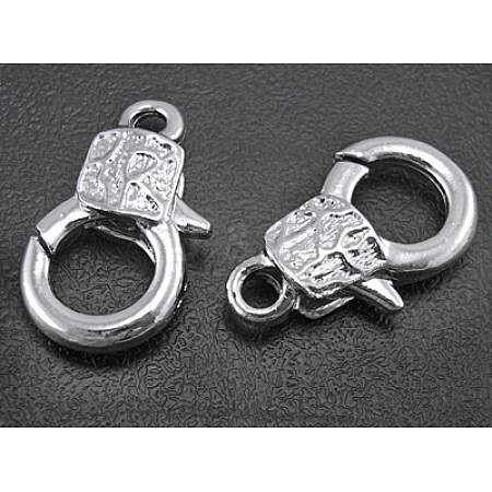 Alloy Lobster Claw Clasps KK333-NF-1