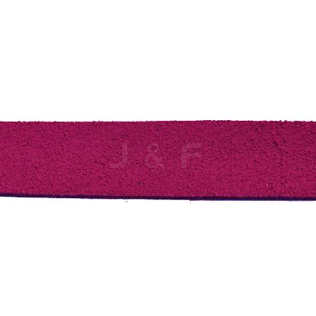 Flat Faux Suede CordLW14126Y-1