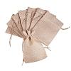 PandaHall Elite Burlap Packing Pouches Drawstring BagsABAG-PH0001-14x10cm-05-1