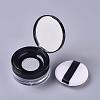 Reusable Plastic Loose Powder BottlesMRMJ-WH0056-34D-1