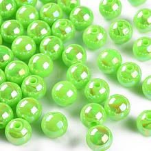 Opaque Acrylic Beads MACR-S370-D10mm-A30