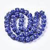 Handmade Lampwork Beads StrandsLAMP-N021-015A-03-2