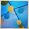 BENECREAT Decoration Accessories Paper Ball LanternAJEW-BC0003-04-6