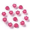 Transparent Acrylic Beads CapsPL543-12-3