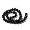 Natural Obsidian Beads StrandsG-K123-06-8mm-2