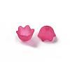 Transparent Acrylic Beads CapsPL543-12-2
