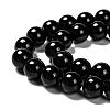 Natural Obsidian Beads StrandsG-K123-06-8mm-3