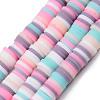 Handmade Polymer Clay Beads StrandsCLAY-R089-6mm-109-1