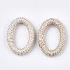 Handmade Woven Linking RingsX-WOVE-T006-001-2