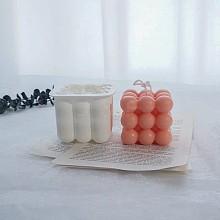 DIY Bubble Cube Candle Molds DIY-I035-04