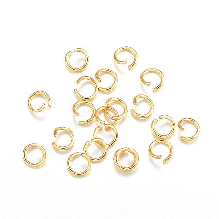 304 Stainless Steel Jump RingsSTAS-F084-27G-1