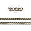 Brass Twisted ChainsCHC010Y-AB-1