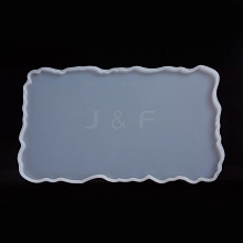 Rectangle Fruit Tray Silicone Molds AJEW-WH0022-03A