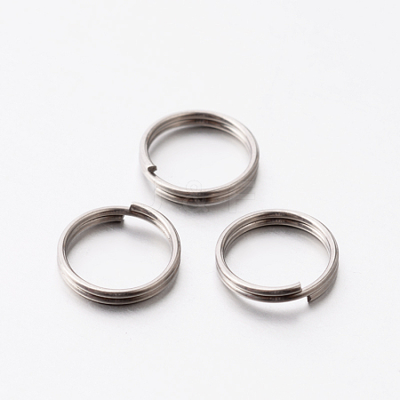 304 Stainless Steel Split Rings STAS-E075-11-1