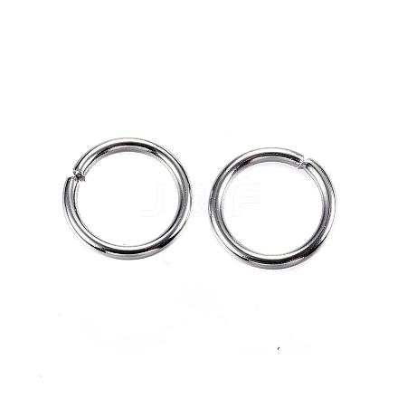 304 Stainless Steel Jump Rings STAS-D448-098P-8mm-1