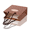 Rectangle Printed Rose Paper Bags CARB-F001-07A-4