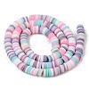 Handmade Polymer Clay Beads StrandsCLAY-R089-6mm-109-2