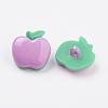 Acrylic Shank ButtonsX-BUTT-E020-B-10-2
