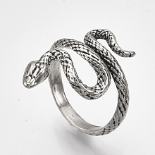 Alloy Cuff Finger Rings X-RJEW-S038-192B