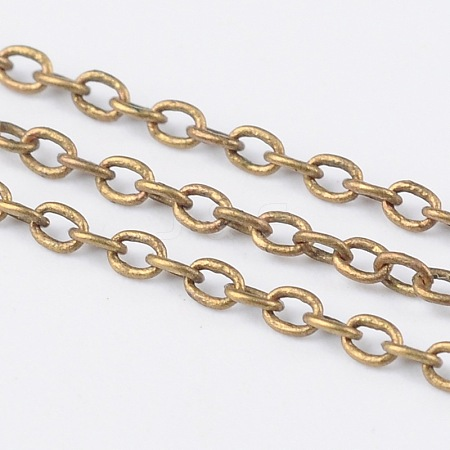 Brass Cable Chains CHC034Y-AB-1