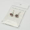 Fashion Earrings for ChristmasX-EJEW-JE00366-01-3