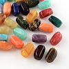 Column Imitation Gemstone Acrylic BeadsOACR-R028B-M-1