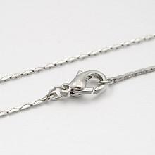 Brass Coreana Chain Necklace Makings MAK-J009-21P