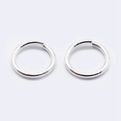 925 Sterling Silver Open Jump RingsSTER-F036-02S-1x6mm-1