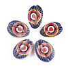 Printed Cowrie Shell BeadsX-SSHEL-T007-15-2