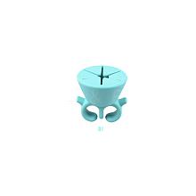 Silicone Wearable Nail Polish Holder MRMJ-R052-50A