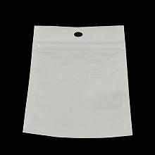 Pearl Film Plastic Zip Lock Bags OPP-R003-8x13