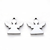 304 Stainless Steel Charms X-STAS-N092-93-2