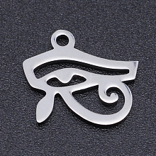 201 Stainless Steel Laser Cut Charms STAS-S105-T919-1