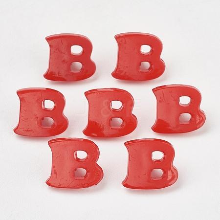 Acrylic Shank ButtonsX-BUTT-E029-02-1
