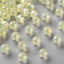 Transparent Acrylic Beads MACR-S370-B6mm-728